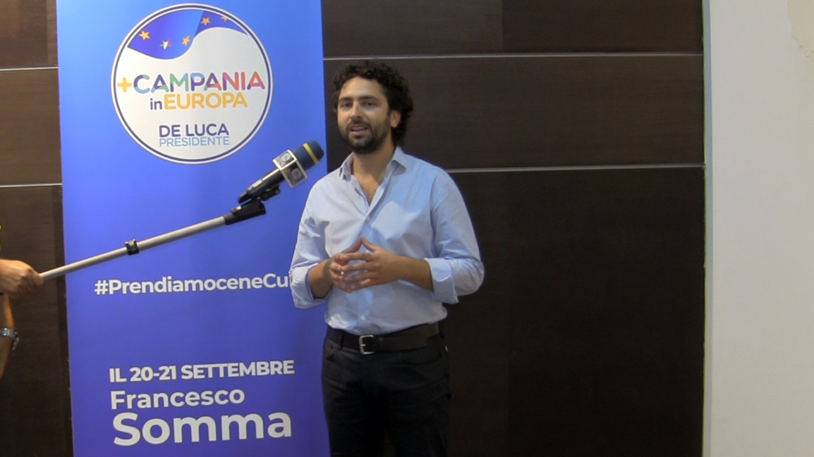 Francesco Somma +Campania in Europa APPELLO AL VOTO