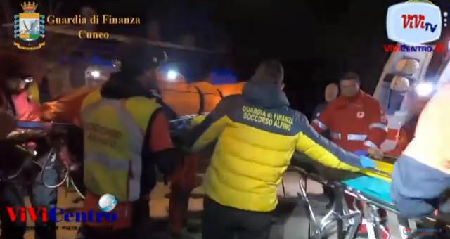 Guardia di finanza Cuneo, il soccorso alpino di cuneo ritrova 6 persone disperse in montagna