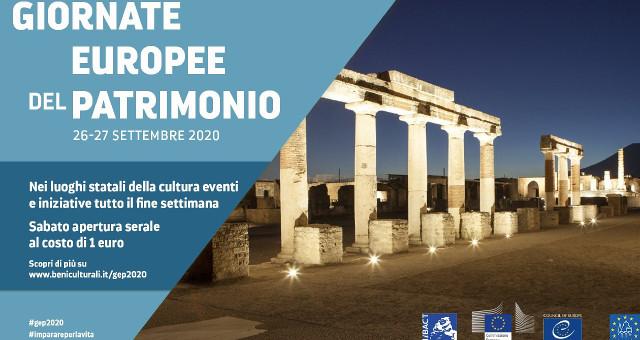 26 e 27 Settembre: Giornate Europee del Patrimonio -Pompei