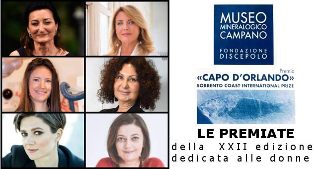 """Premio """"Capo d'Orlando"""", la XXII edizione dedicata alle donne"""