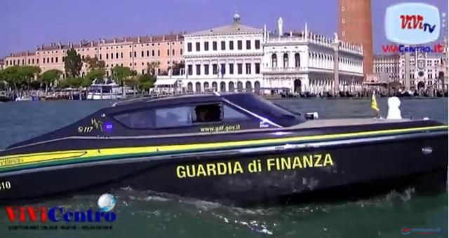 La Guardia di Finanza a Venezia, con la V.A.I. 310, navigherà in elettrico
