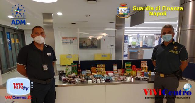 Aeroporto Capodichino: sequestrate oltre 1.000 confezioni di medicinali e farmaci
