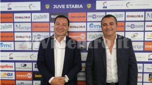 JUVE STABIA Andrea Langella e Giuseppe Langella