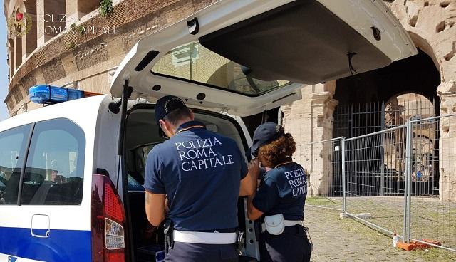 Polizia Locale Roma Capitale- Fermato un saltafile