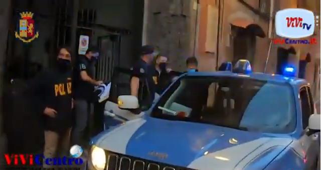 Polizia Napoli, Custodia cautelare per 14 soggetti