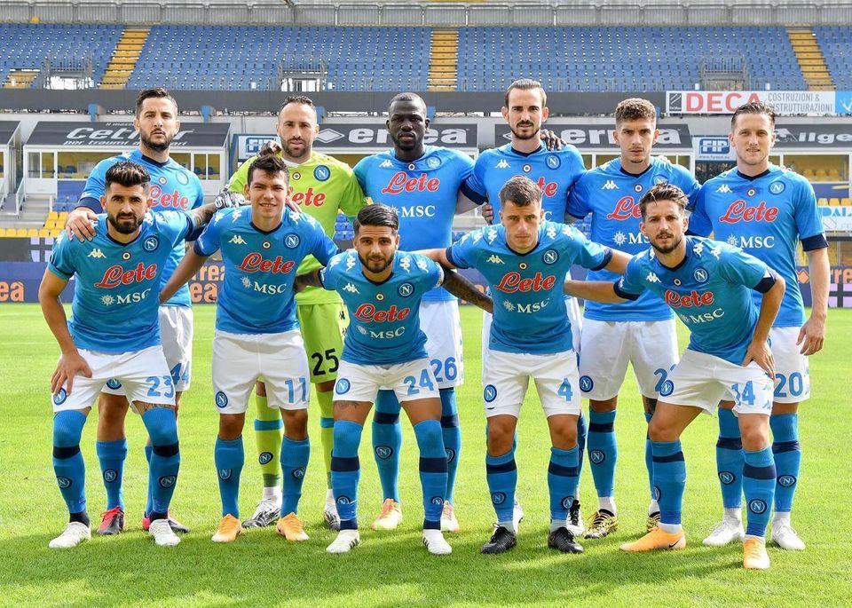 Fonte: SSC Napoli
