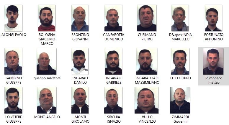 Con i 20 arresti è stato inflitto un duro colpo al mandamento mafioso