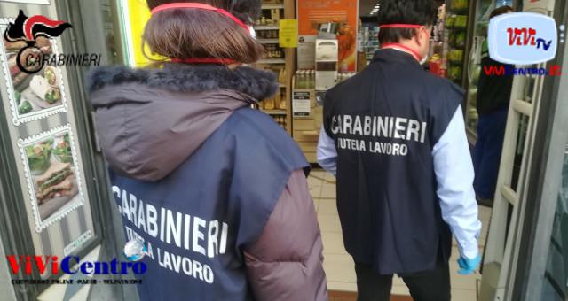 Carabinieri Ispettorato del lavoro: due denunce