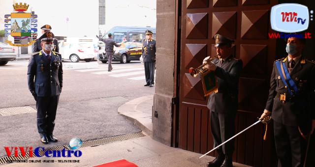 Caserma Zanzur, visita del Generale di Corpo d'Armata Giuseppe Zafarana