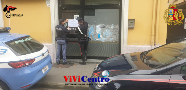 Commissariato Vicaria-Mercato (NA) chiusa sala giochi e bar multato