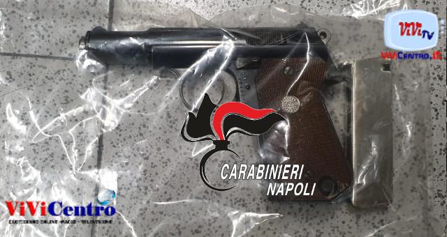 Controlli anticovid a Vico Equense, arrestato per possesso pistola