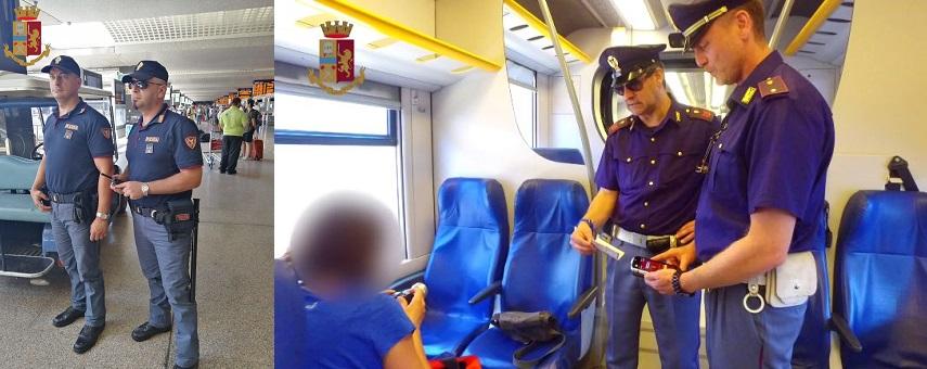La Polizia di Stato intensifica i controlli nelle aree ferroviarie siciliane