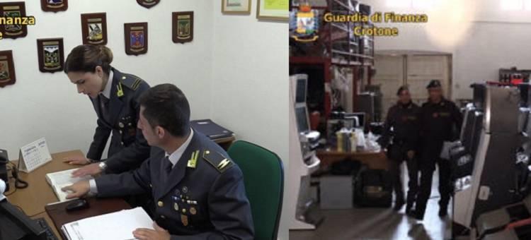 La Guardia di Finanza di Crotone ha sequestrato beni