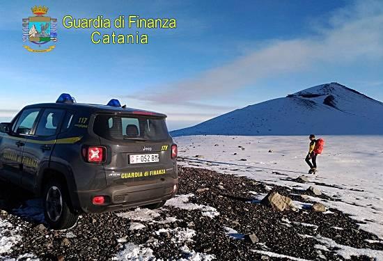 Denunciati dalla GdF di Nicolosi (CT) 13 guide vulcanologiche ed 1 guida alpina