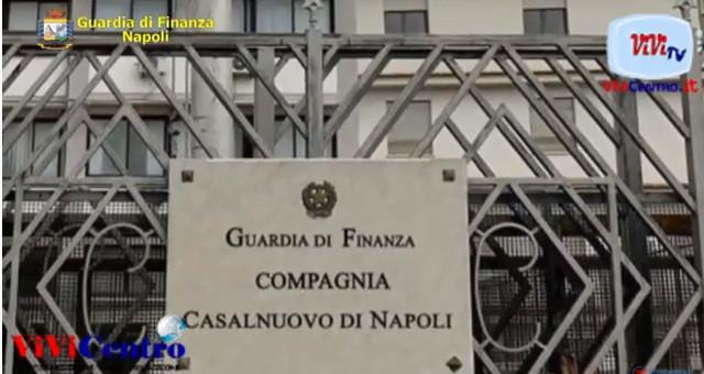 Guardia di finanza Napoli, sequestrata fabbrica di scarpe