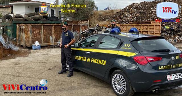 GdF di Salerno: sequestrati beni per un milione di euro