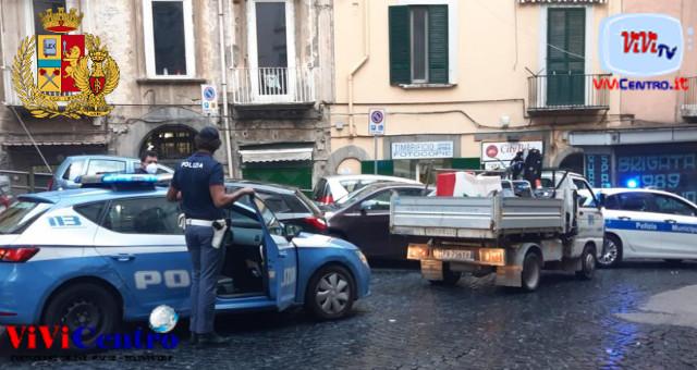 Quartieri Spagnoli: rimossi new jersey, paletti e catene