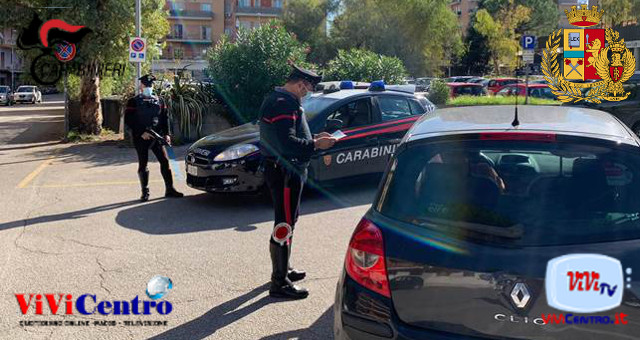 Operazioni di controllo dei Carabinieri contro lavoro nero Emergenza Covid-19: controlli serrati dei Carabinieri di Aversa
