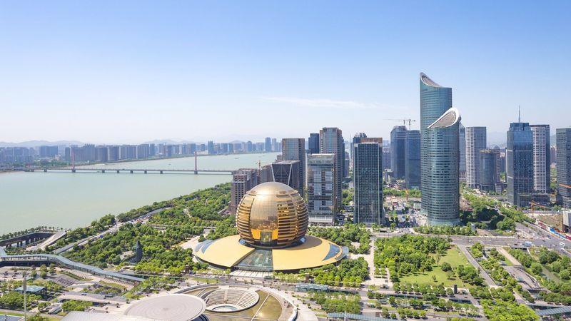 Inaugurato in Cina a Hangzhou complesso multifunzionale denominato Tianmuli di 230.000 m2