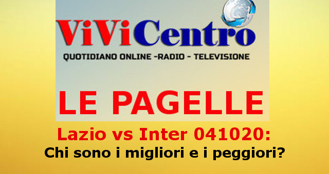 Le pagelle di Lazio vs Inter 041020