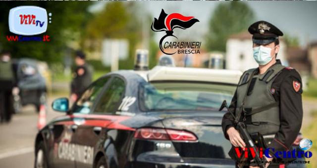 Manerbio (BS), arrestato straniero irregolare per rapina impropria e resistenza.