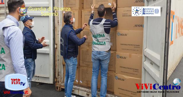 Operazione GdF e Dogana Salerno