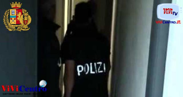 Operazioni di Polizia in Corso San Giovanni e Materdei