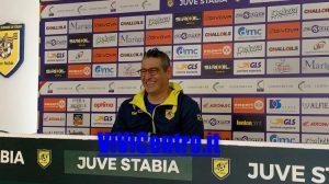 Padalino conferenza Juve Stabia