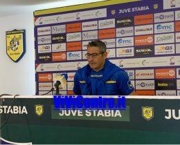 Padalino conferenza Juve Stabia Virtus Francavilla
