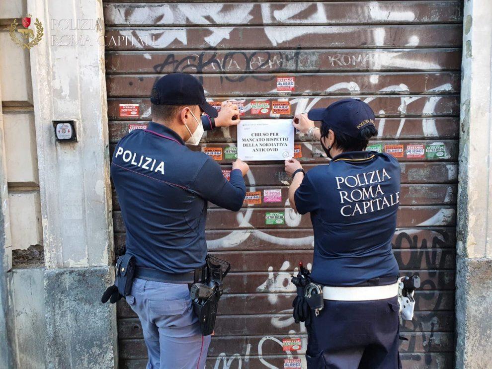 Polizia Locale- chiusa parrucchieria