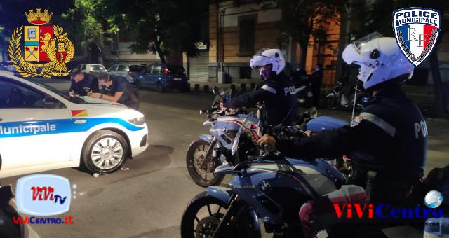 Polizia Locale e di Stato Napoli, Secondigliano, controlli del territorio