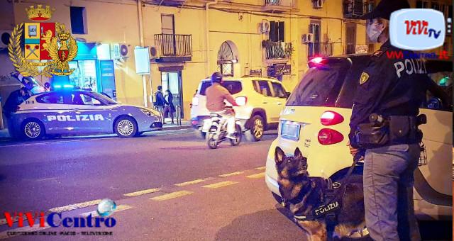 Polizia, controlli Quartiere Avvocata 2