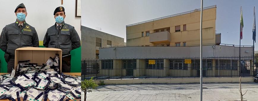 Sequestrate dalla GdF di Palermo ad una farmacia