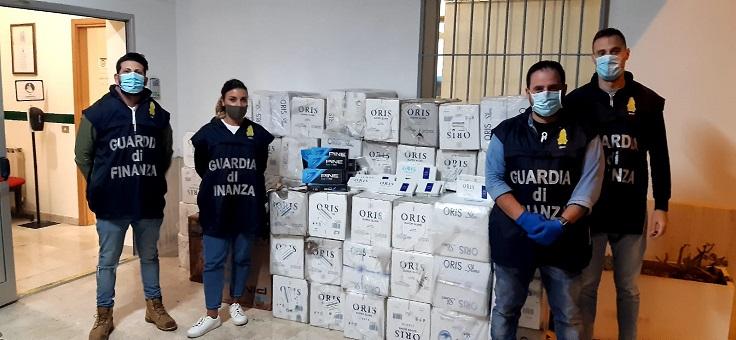 Arrestati quattro soggetti e sequestrate sigarette d'importazione