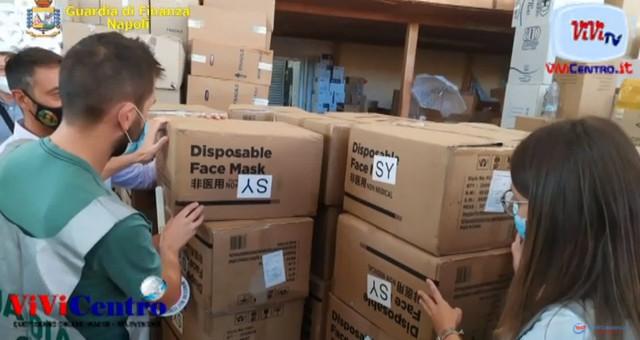Sequestrati ad Arzano (NA), 139.000 dispositivi sanitari non a norma