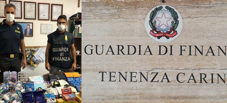 Sequestrati dalla Guardia di Finanza