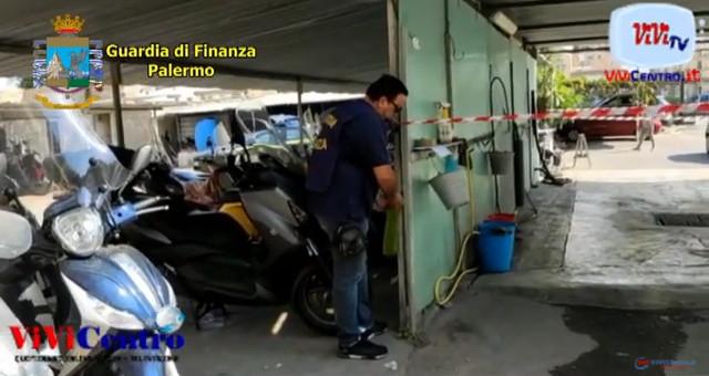 A Palermo sequestrato un autolavaggio abusivo
