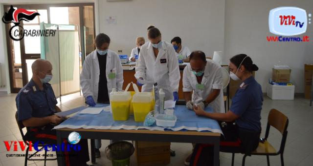 Sicuri per la tua sicurezza, test Coronavirus dei Carabinieri 1
