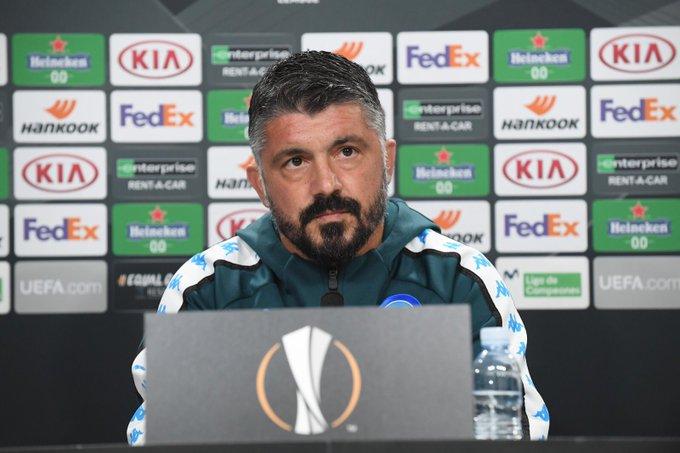 Credit: SSC Napoli- Gattuso