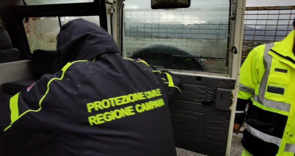 Sarno interventi protezione civile campania 3