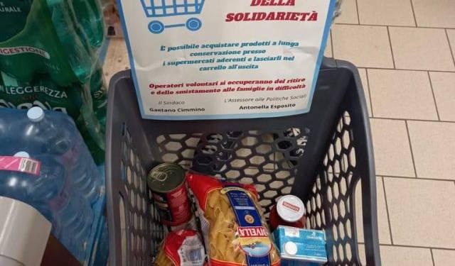 """Castellammare di Stabia: in corso l'iniziativa del """"Carrello Solidale"""""""