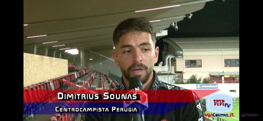 Dimitrius Sounas - centrocampista Perugia -