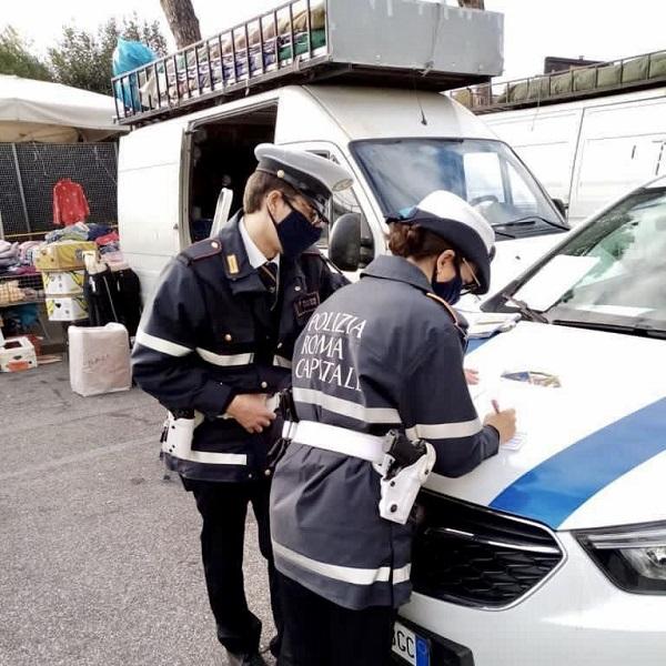 controllo mercati polizia Locale