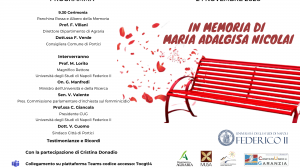 L'Ateneo Federico II ricorda la professoressa Maria Adalgisa Nicolai