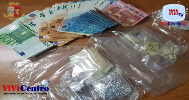 Pomigliano D'Arco: scoperto con la droga in casa, arrestato