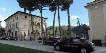 Carabinieri Rieti- arresti falso boscaiolo pugnalato