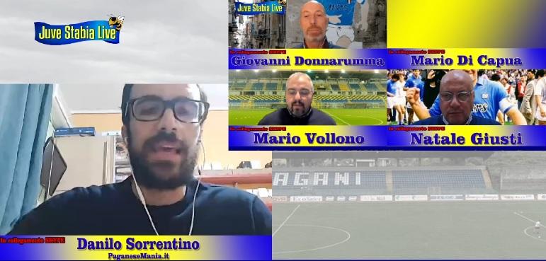 Danilo Sorrentino Paganese JUVE STABIA LIVE TALK SHOW