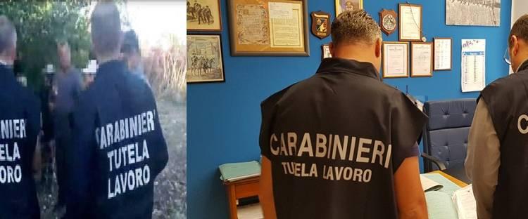 Il coronavirus non ferma il lavoro nero. Continuano senza sosta i controlli in tutta la Sicilia dei Carabinieri