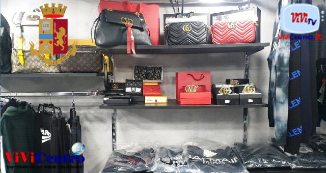 """Duchesca: allestisce un negozio del """"falso"""", un uomo denunciato"""