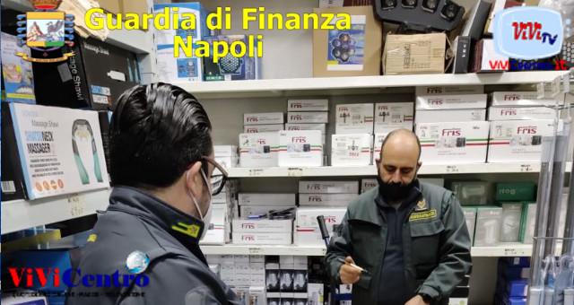 Guardia di Finanza di Napoli: aumento controlli nella fase Rossa